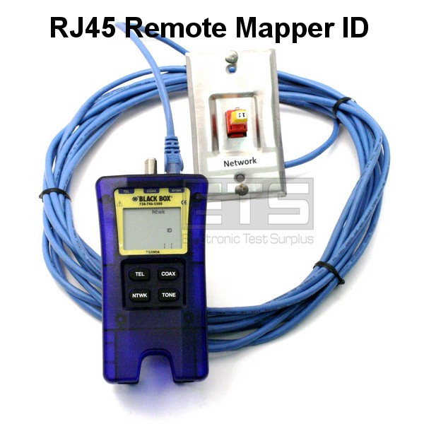 JDSU Test-Um Black Box Resi-Tester TP300 KP420 Coax 2 Wire Map Cable ...