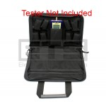 """Soft Pouch Carrying Case 12"""" x 10"""" x 2.25"""" For Black Box Soho TS590A & Soho Plus Testers"""