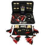 JDSU Test-Um Black Box Resi-Tester TP300 KP420 Coax 2 Wire Map Cable Tester Kit