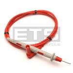 Pomona 6365 2mm Hardpoint Test Lead Angled 4mm Plug 1000-Volt CAT III