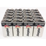 Lot Of 20 Energizer 9-Volt Alkaline Battery