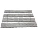 Lot Of 100 Test-Um JDSU Universal Metal Belt Holster Clip Adapters