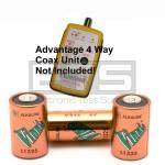 Advantage ADV1008 55-007 55-007 4 Way Coax Mapper A544 6 Volt Battery 3 Pack