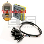 Byte Brothers 8 Alligator Clip Test Lead For CPK1000 Cable & Power Tester