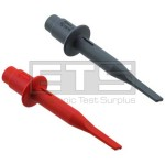 Fluke HC120 Test Lead Hook Clips Red & Grey *Brand New In Box*