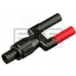 Fluke PM9081/001 Dual Banana Plug Male To Female BNC Jack Adapter
