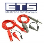 Fluke PM8918 Insulated Oscilloscope Voltage Probe Set With Hook Clips