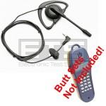 Fluke Networks TS25 TS25D Butt Set Hands Free Headset 4ft Cord 2.5mm Plug