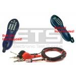 Greenlee Tempo Tele-Mate PE810 PE830 CS-02 Butt Set Line Cord Piercing Pin Alligator Clip Set