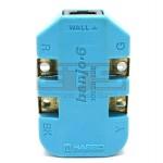 Fluke Harris 10220100 Banjo 6 Wire In Line Modular Adapter
