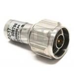 Huber + Suhner 65 N-50-0-17 50 Ohm N Coax Terminator Plug
