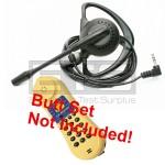 Test-Um JDSU Lil Buttie LB110 LB110UK Butt Set LB40 Hands-Free Mini Headset 2.5mm Plug 4ft. Cord