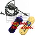 Test-Um JDSU Lil Buttie LB115 LB300 Butt Set LB40 Hands-Free Mini Headset 2.5mm Plug 4ft. Cord