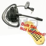 Test-Um JDSU Lil Buttie LB220 LB220UK Butt Set LB40 Hands-Free Mini Headset 2.5mm Plug 4ft. Cord