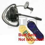 Test-Um JDSU Lil Buttie  LB230 LB255 Butt Set LB40 Hands-Free Mini Headset 2.5mm Plug 4ft. Cord