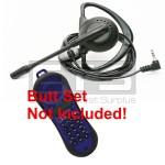 Test-Um JDSU Lil Buttie LB260 LB255UK Butt Set LB40 Hands-Free Mini Headset 2.5mm Plug 4ft. Cord