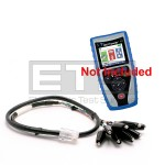 T3 Innovations Net Prowler NP700 RJ45 Plug To 8 Insulated Miniature Alligator Clip Set