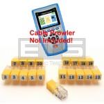 Platinum Tools TCB360K1 TCB300 Cable Prowler RJ11 Remote Identifier Mapper IDs Set 1-19