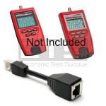 Platinum Tools VDV MapMaster T119c T129c 21025c Sacrificial RJ45 Port Saver Dongle Cable