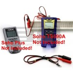 RJ11 Modular Plug To 2ft & 4ft Alligator Clip Sets For Black Box Soho TS590A & Soho Plus Testers