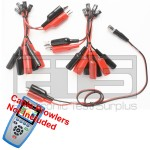 T3 Innovations Cable Prowler CB350 CB400 Individually Numbered 2 Wire Identifier Mapper IDs Clip Set 1-10