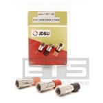 Test Um JDSU CX200 Coax Mapper 1x CX32 1x Red CX33 1x Orange CX31 Brown Terminator Set