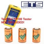 Test-Um JDSU TP100 Tell-Al Indicator CX35 6 Volt Alkaline Battery 3 Pack