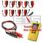 Test-Um JDSU Testifier TP350 TP315 2 Wire Identifier Mapper ID Clip Set 1-10