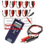 Test-Um JDSU Testifier Pro TP650 TP655 TP315 2 Wire Identifier Mapper ID Clip Set 1-10