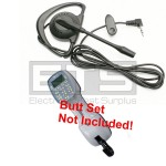 GreenLee Tele-Mate TM-700i TM-700UK Butt Set Hands Free Mini Headset 2.5mm Plug 4ft Cord