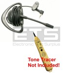 Test-Um JDSU TT100 Tone Tracer LB40 Mini Hands Free Headset 4ft Cord 2.5mm Plug