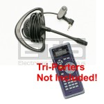 Test-Um JDSU Tri-Porter IVT600 IVT600UK LB40 Hands Free Mini Headset 2.5 mm Plug 4ft. Cord