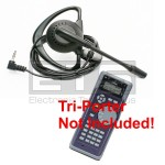 Test-Um JDSU Tri-Porter IVT600AUS LB40 Hands Free Mini Headset 2.5mm Plug 4ft. Cord