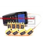 Test-Um JDSU Validator NT1150 NT1155 TP610 Wiremapping Network Remote Identifiers Set 1-8