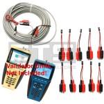 Test-Um JDSU Validator NT950 NT955 TP315 2 Wire Identifier Mapper ID Clip Set 1-10