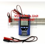 Ideal VDV II Pro 33-887 R158002 Cable Verifier RJ11 Plug To 2ft & 4ft Alligator Clip Sets