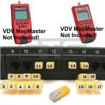 Platinum Tools VDV MapMaster T119c T129 RJ11 Remote Identifier Mapper IDs Set 1-19