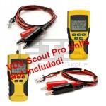 Klein Tools VDV Scout Pro Scout Pro 2 RJ11 Plug To 2ft & 4ft Alligator Clip Sets