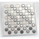 Lot Of 50 Vinnic L1154 1.5 Volt Button Cell Alkaline Battery PLLL