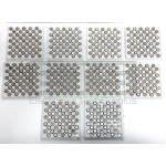 Lot Of 500 Vinnic L1154 1.5 Volt Button Cell Alkaline Battery PLLL