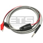 Fluke WaveTek TC-260/5 Bantam To Alligator Clip Set Test Cable Patch Cord TC2605 TC260 5