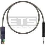 Westek TC-820/10 3 Conductor Single bantam Plug To 3 Conductor 800 Simplex DSX Plug