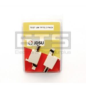 2 Pack Of Test-Um JDSU TP70 BNC Jack To RJ45 Plug Connector Adapter