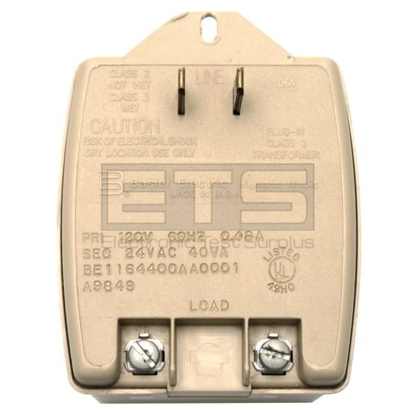 basler electric plug in class 2 transformer be1164400aa0001 120v