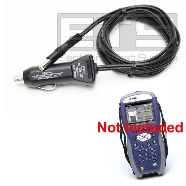 DC Auto Car Charger Power Supply 6' 12 Volt 5 Amp For JDSU