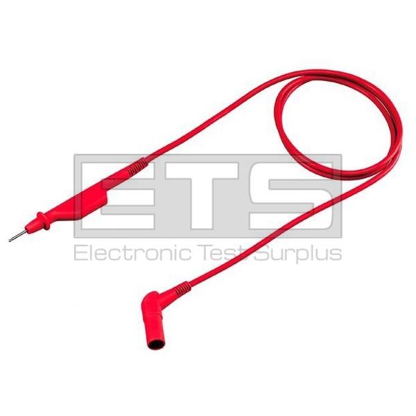 Fluke STL120 Shielded Test Lead Red 12 5 MHz Bandwidth 1 2m