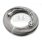 Panasonic Mcdonalds 100BumpCBL Bump Bar To Splitter RS232 Serial Cable 100' 9PIN Male Plug To 9PIN Female Plug