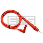Fluke TL75 2mm Hard Point Comfort Grip Test Lead Probe Prod Red TL 75