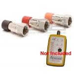 Set Of 3 Advantage Coax Terminator Plug Set For ADV1008 55-007 4 Way Coax Mapper