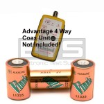 Advantage ADV1008 55-007 55-007 4 Way Coax Mapper A544 6 Volt Battery 3 Pack